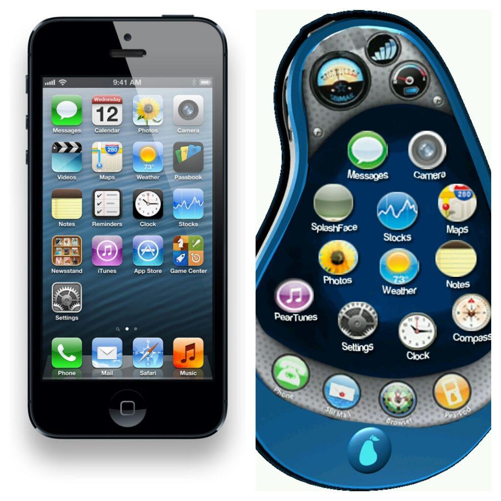 Iphone Pear Phone