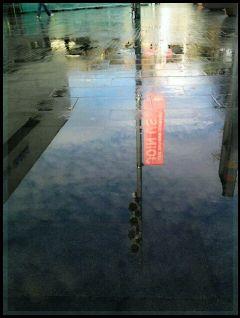 reflection water london