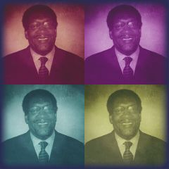love father popart people family colorful