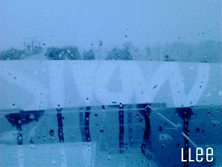 blue snow weather winter