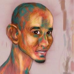 face dcportrait portrait closeup sketch