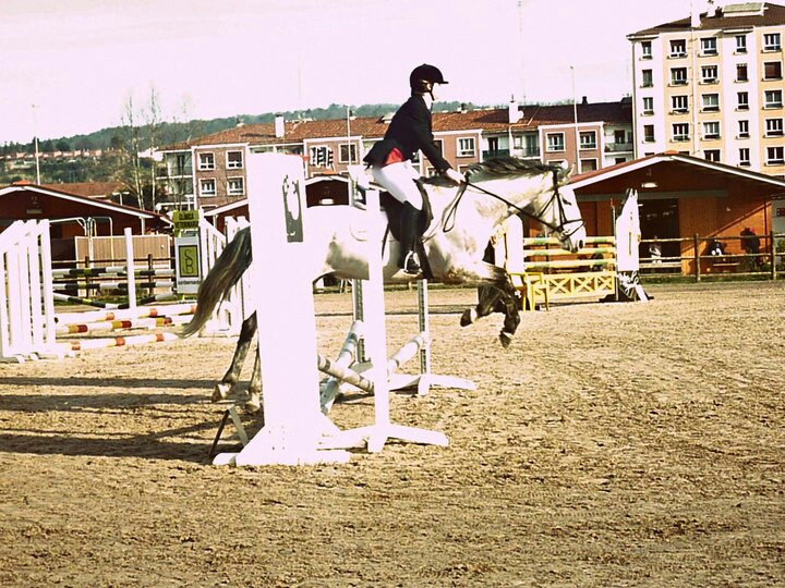 me;) jumping competition 16-02-13