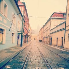 streets photography architecture quaint Prague