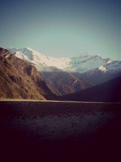 travel mountains nature