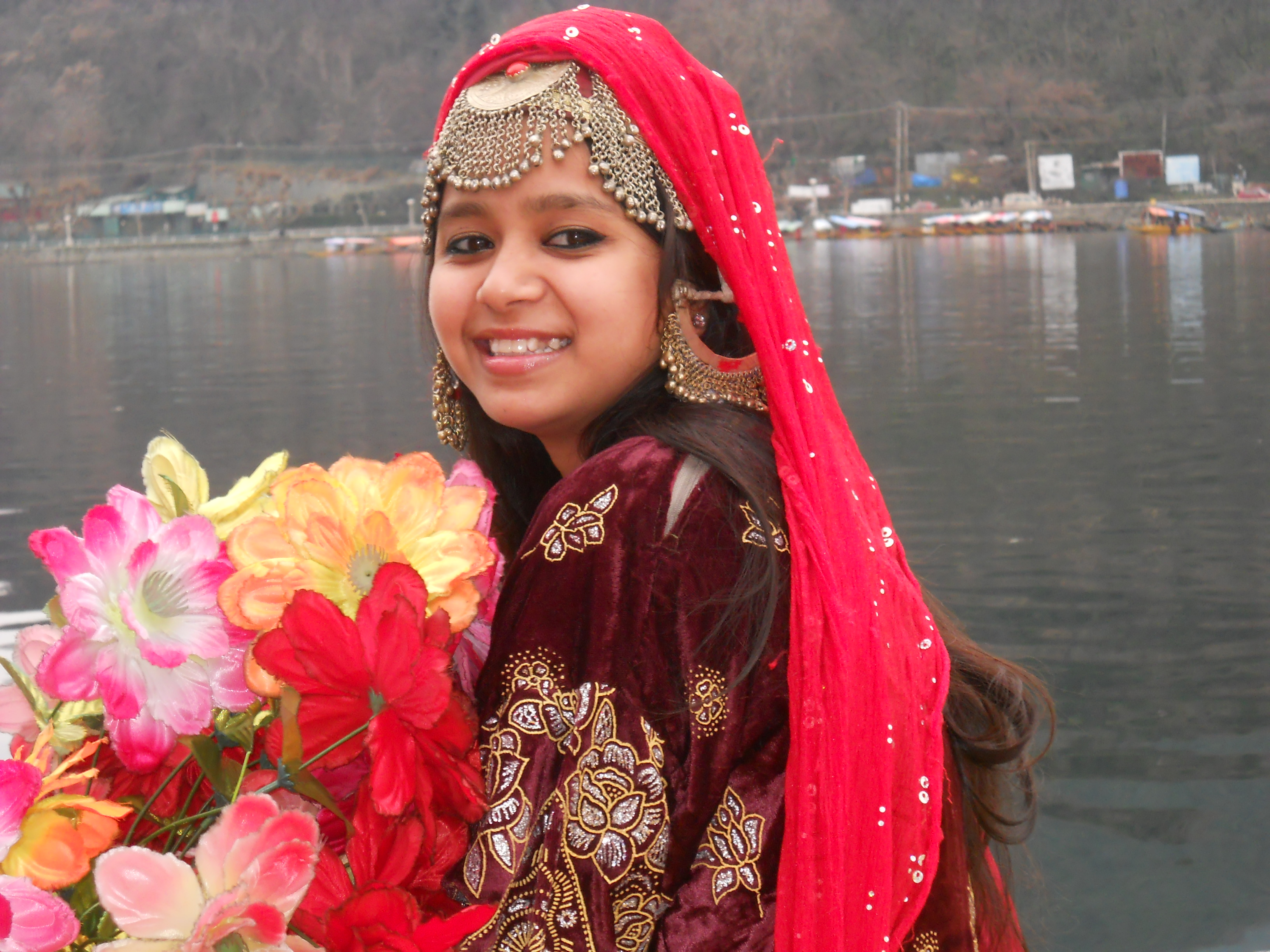 meeee in traditional kashmiri - Photo by neelam