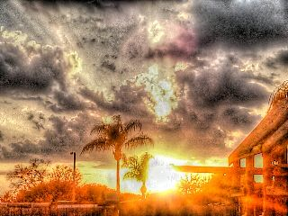 sunset sky sky summer nature fun with fx clouds
