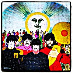 colorful beatles music puzzle
