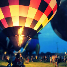 colorful photography travel people balloon