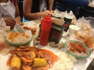 food amazing shrimp the boiling crab yummy
