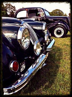 black cars old travel vintage